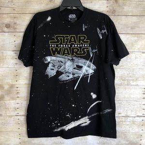 Star Wars Mellennium Falcon Mens Shirt